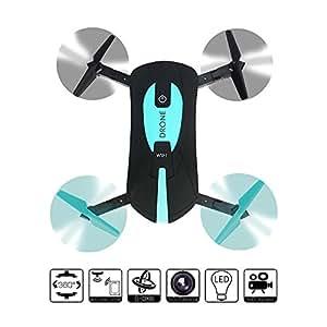 2.4G Mini pieghevole Mini Selfie Drone 2 MP Camera da controllo del telefono