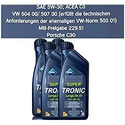 ARAL SuperTronics Longlife III 5W-30 Motorenöl , 4 Liter (4X1L)