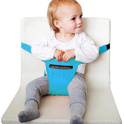 Preisvergleich Produktbild Minichair Kindersitz für unterwegs türkis