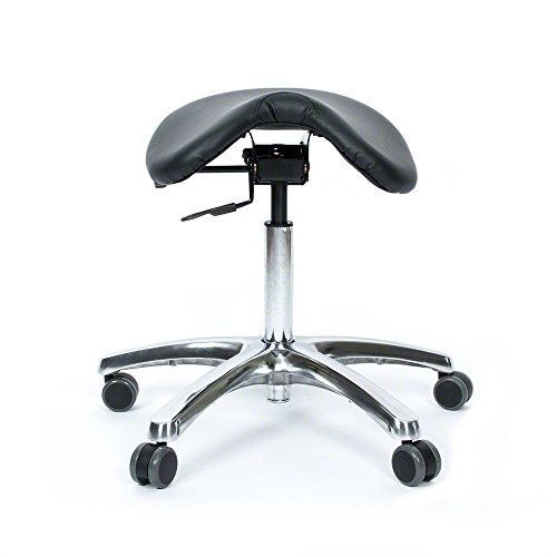 Fully Adjustable Saddle Stool Ergonomic Stool Designed