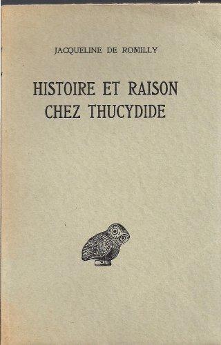 Histoire Et Raison Chez Thucydide [Pdf/ePub] eBook