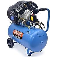Compresor de Aire 50 Litros 2200W 356l/min 220V Dos Cilindros