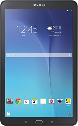 Samsung Galaxy Tab E T560N 24,3 cm (9,6 Zoll) Einsteiger Tablet-PC (Quad-Core, 1,3GHz, 1,5GB RAM, WiFi, Android 4.4) schwarz (Samsung Galaxy 9-zoll-tablet-fall)