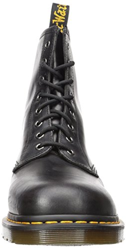 Dr. Martens 1460 Milled Smooth, Scarpe Stringate Basse Brogue Unisex-Adulto Gunmetal Orleans