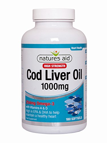 Cod Liver Oil (High Strength 1000mg caps)