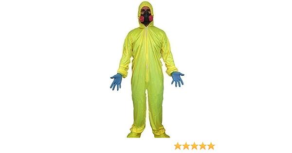 Toxique Déchets Déguisement Halloween Garçon Bad Chimiste Costume 7-14 Ans