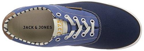 JACK & JONES Jjsurf Cotton Low, Low-Top Sneaker uomo Multicolore (Mehrfarbig (Moonlight Blue))