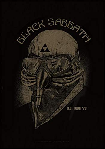 Black Sabbath U.S. Tour '78 Flagge Standard