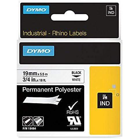 Dymo S0718470 - Cinta rotulación, 92 mm x 5.5 m, color amarillo