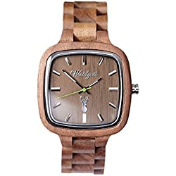 The Time Men's Watch Wood Intuition Pioneer IT01