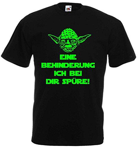 Master Yoda T-Shirt Star Wars EINE BEHINDERUNG ICH BEI DIR SPÜRE!XXXL