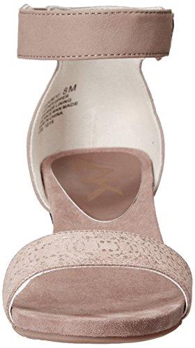 Anne Klein Calbert Damen Leder Keilabsätze Sandale Tau/Brz