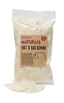 Naturals Soft n Safe Animal Bedding, Small, 20 g by Rosewood