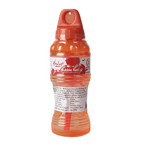 hamleys Bubble Fuel 8oz Billion Bubles S, Multi Color (Color May Vary)  available at amazon for Rs.269