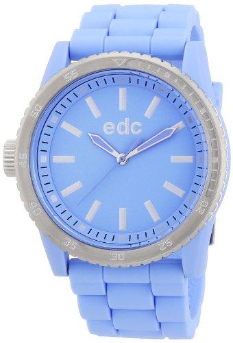 edc by Esprit A.EE100922009 - Reloj analógico de cuarzo para mujer con correa de plástico, color azul