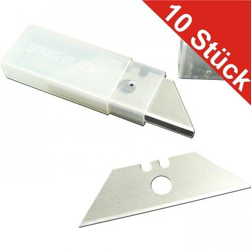 Ersatzklingen 10Stk. Farbschaber Tapetenschaber Bodenschaber Glasschaber