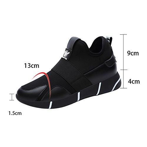 Liangjun Chaussures Femme Baskets À Ressorts Extérieurs, 2 Couleurs Disponibles, 2 Types, Taille 8 (couleur: Couleur Du Fil-1 #, Taille: Eu37 = Uk5 = L: 235mm) Noir-1 #