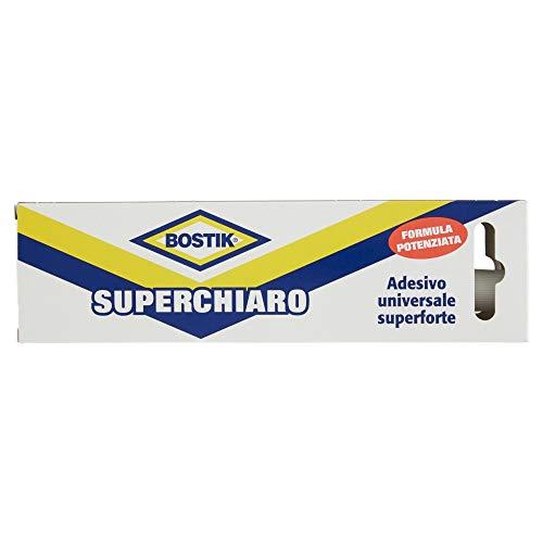 Bostik superchiaro adesivo a contatto universale super forte e super rapido astuccio 125g giallo