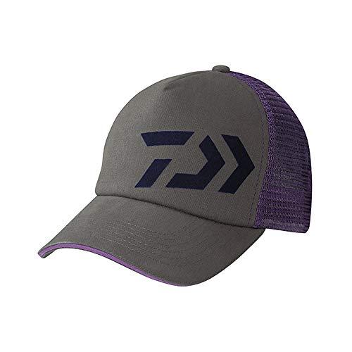 Daiwa Trucker grau/violett Cap Dvec-Tr-Gr-VIO Angelbekleidung Herren Kopfbedeckung