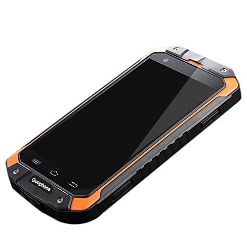 'bulary Guophone V94.5Android 4.4MTK6572Dual Core 3G Smartphone IP68étanche Antichoc Dual Sim Mobile Téléphone Portable