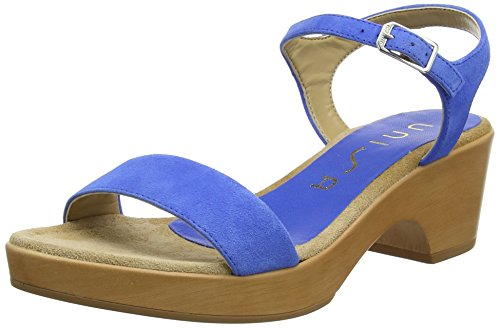 Unisa Irita_18_KS, Sandales Femme, Bleu (Klein), 40 EU