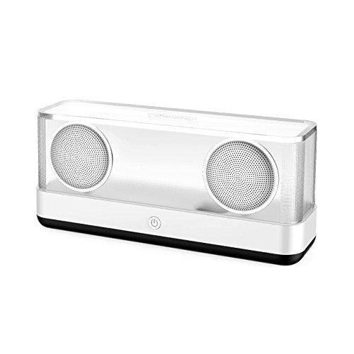 inateck tragbarer kabelloser Bluetooth 4.2 Lautsprecher, Kristalloptik, 20W Watt,erweiterter Subwoofer Bass, Airflow-Technologie, hohe Akku-Kapazität für Smartphones, PC, Tablet, Party etc. (BP2003)
