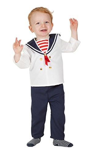 Wilbers Marine Kinder Kostüm Baby Matrose Karneval Fasching -