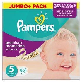Preisvergleich Produktbild Pampers Active Fit gr.5 Junior 11-25kg Jumbo Plus 60 St