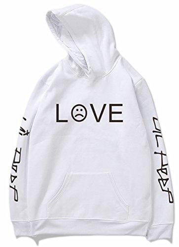 SERAPHY 2018 R.I.P Lil Peep Rapper Unisex Harajuku Casual con capucha Hip Hop Spring Sudadera con capucha Hombres/Mujeres… LuqDtJ