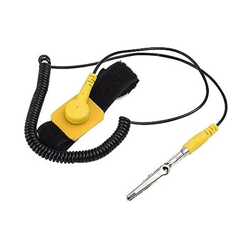 Bracelet Antistatique - eBoot Bracelet Antistatique Anti Statique Dragonne Réglable