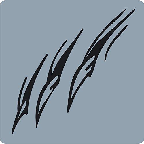 lle / Anthrazit - glänzend - Aufkleber zur Dekoration von Autos, Motorrädern und allen anderen glatten Oberflächen im Außenbereich; aus 19 Farben wählbar; in matt oder glänzend ()