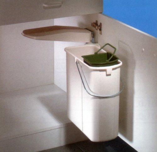 Einbau-Abfalleimer inklusive herausnehmbarem Eimer