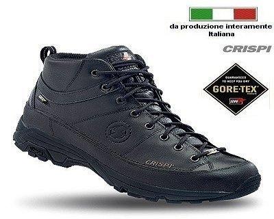 Scarpe Crispi AWAY MID BLACK GTX® - 46