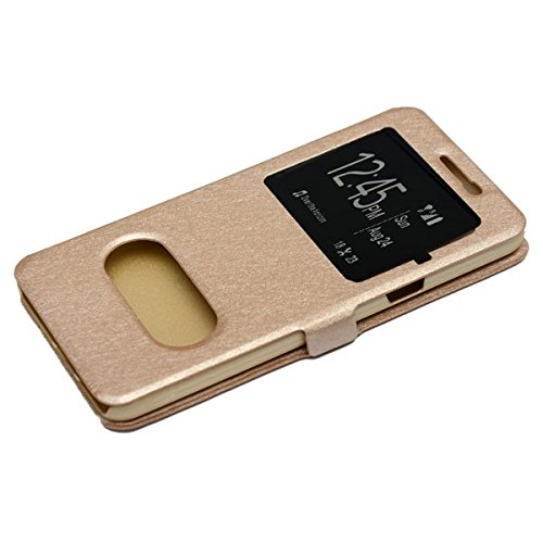 nCase Window Flip Cover for Samsung Galaxy J7 – 6 (New 2016 Edition)