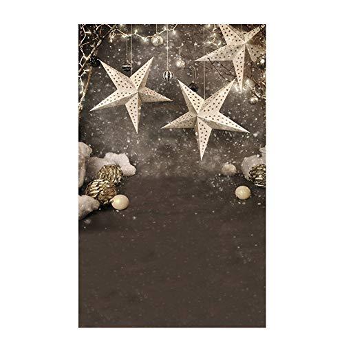 (Le yi Wang You San Bodhi® Hintergrund Weihnachtsbaum Realistische Kinder-Fotografie Foto Requisite (150 x 220 cm), Vinyl, 1)