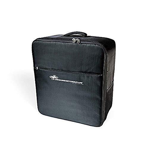Kompakter Yuneec Typhoon Q500 Rucksack + kostenloses Flugnachweisheft - hochwertig und leicht zu Tragen - viel Platz für Zubehör - Koffer Rucksack - (FLYCASE | Schwarz)