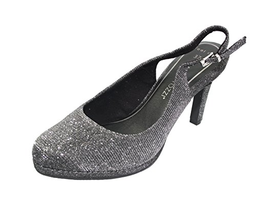 Marco Tozzi Sling-Pumps Anthracite Metallic 2-29603-28 239 Anthracite Met.