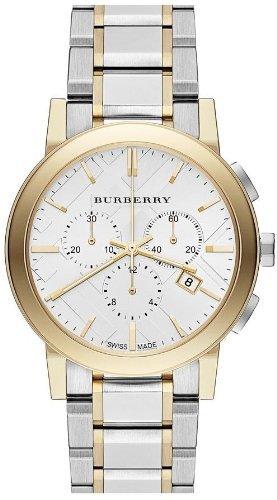 BURBERRY BU9751 - Orologio da polso, cinturino in acciaio inox