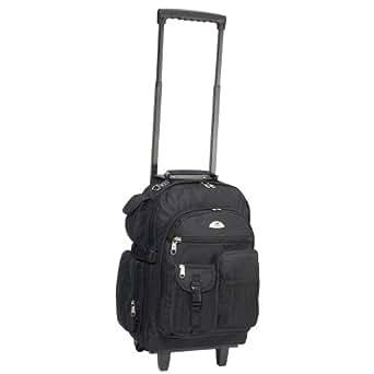 Everest 27.9 Ltrs Black Casual Backpack (5045WH-BK)