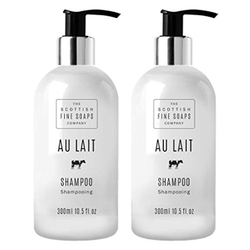 Scottish Fine Soaps Au Lait Hair Shampoo Twin Pack - Gel Twin Pack