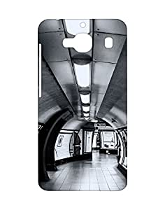 Mobifry Back case cover for Xiaomi Redmi 2 Mobile ( Printed design)