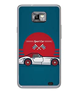 PrintVisa Designer Back Case Cover for Samsung Galaxy S2 I9100 :: Samsung I9100 Galaxy S Ii (Love Lovely Attitude Men Man Manly)