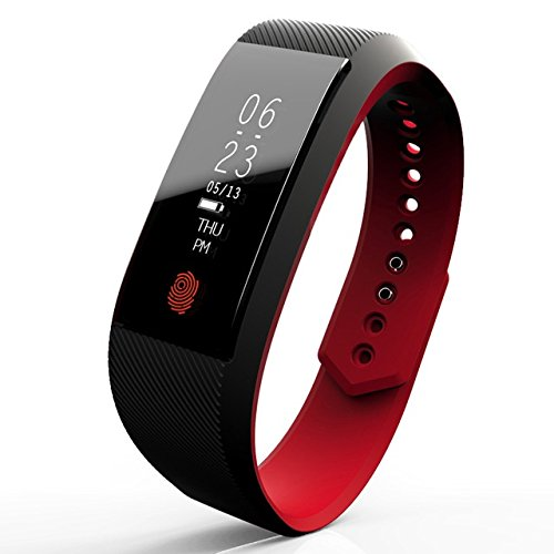 Opta SB-003 Black Bluetooth Heart Rate Sensor Smart Band And Fitness Tracker For Android/IOS Mobile Phones
