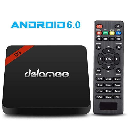 41k0fqR8%2BNL. SS500  - Android 6.0 Smart TV Box Dolamee D3 Amlogic 4K UHD Media Player 2.4G Wifi Wireless 3D Mini Set Top Box