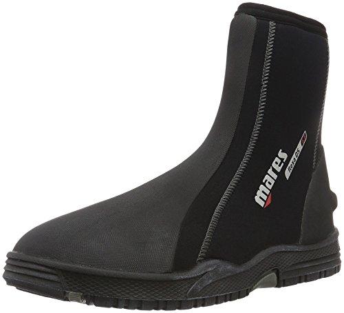Mares adulti Calzari Dive Boots Flexa DS 6.5mm, Unisex, Füßling Dive Boots Flexa DS 6.5 mm, Nero/Grigio, 5