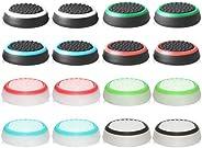 abd Tappi Pulsanti in Silicone Copertura di Protezione for PS5,PS4, Xbox 360, PS3 Controllers Colori Misti, 8