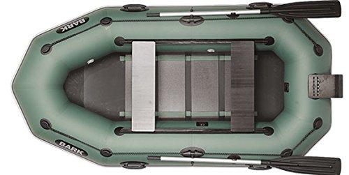 BARK B-270 Rudern Boot/MotorBoot, 2-Person, Schlauchboot Paddelboot Einzelnes Boot, Vorzüglichkeit, Festigkeit. Professionelle Version. (B-270NPD)