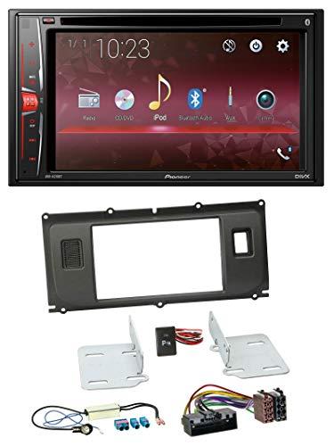 caraudio24 Pioneer AVH-A210BT DVD CD Bluetooth USB MP3 2DIN Autoradio für Land Rover Evoque (ab 2011) Land Rover Cd