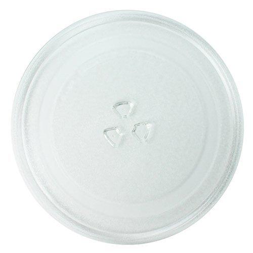 Spares2go Protector de pantalla de cristal placa para Ranura de Russell Hobbs para microondas y hornos (245 mm/25,4 cm)