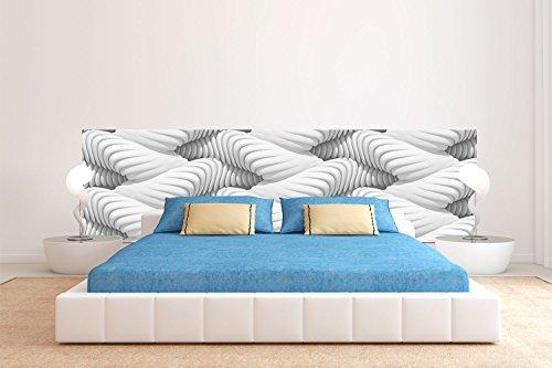 Cabecero Cama PVC Textura Futurista 150x60cm   Disponible en Varias Medidas   Cabecero Ligero, Elegante, Resistente y Económico
